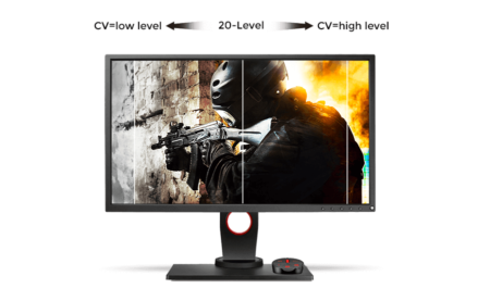 BenQ Zowie XL2546 Color Vibrance
